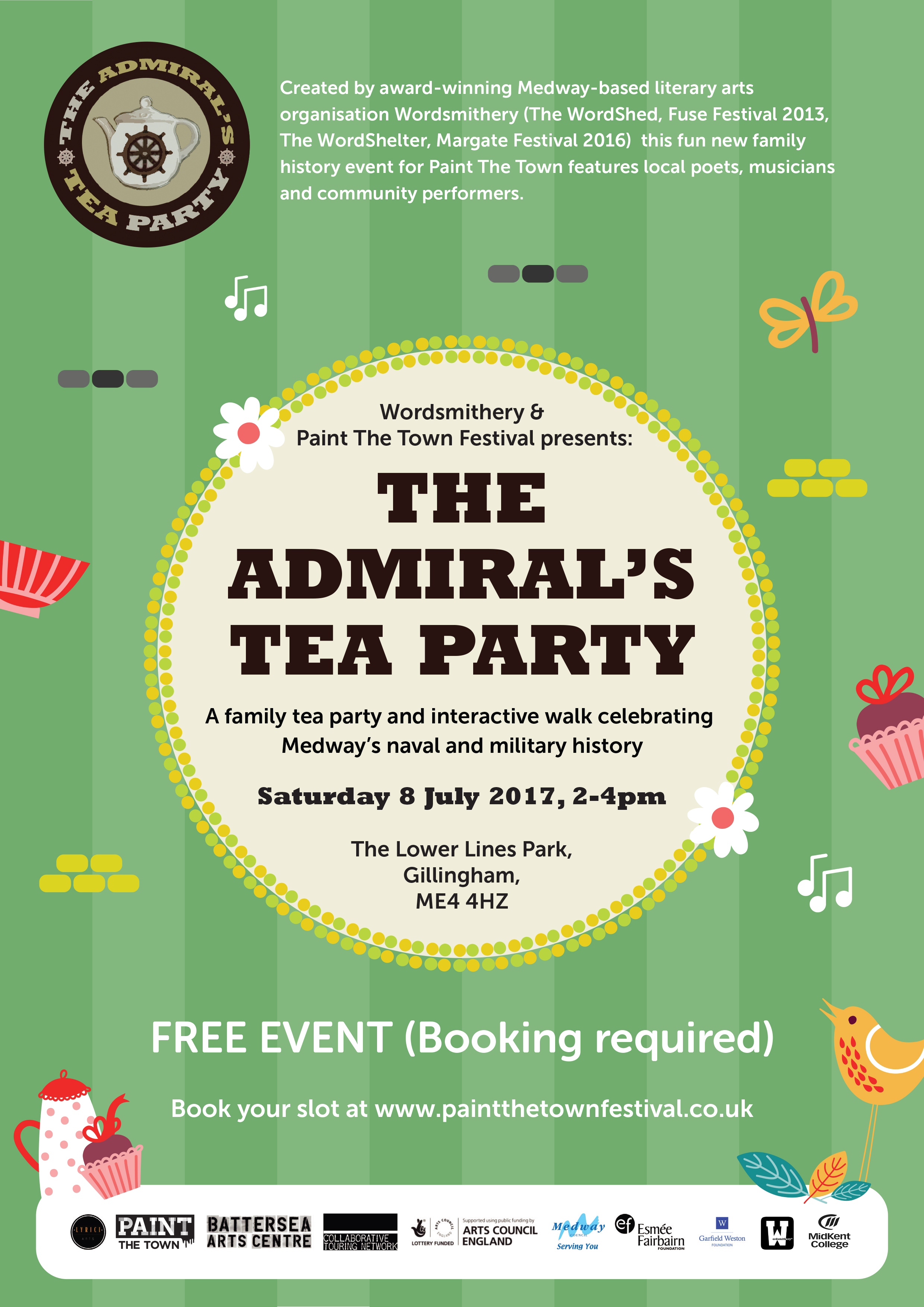 Paint The Town Year Round - The Admiral's Tea Party