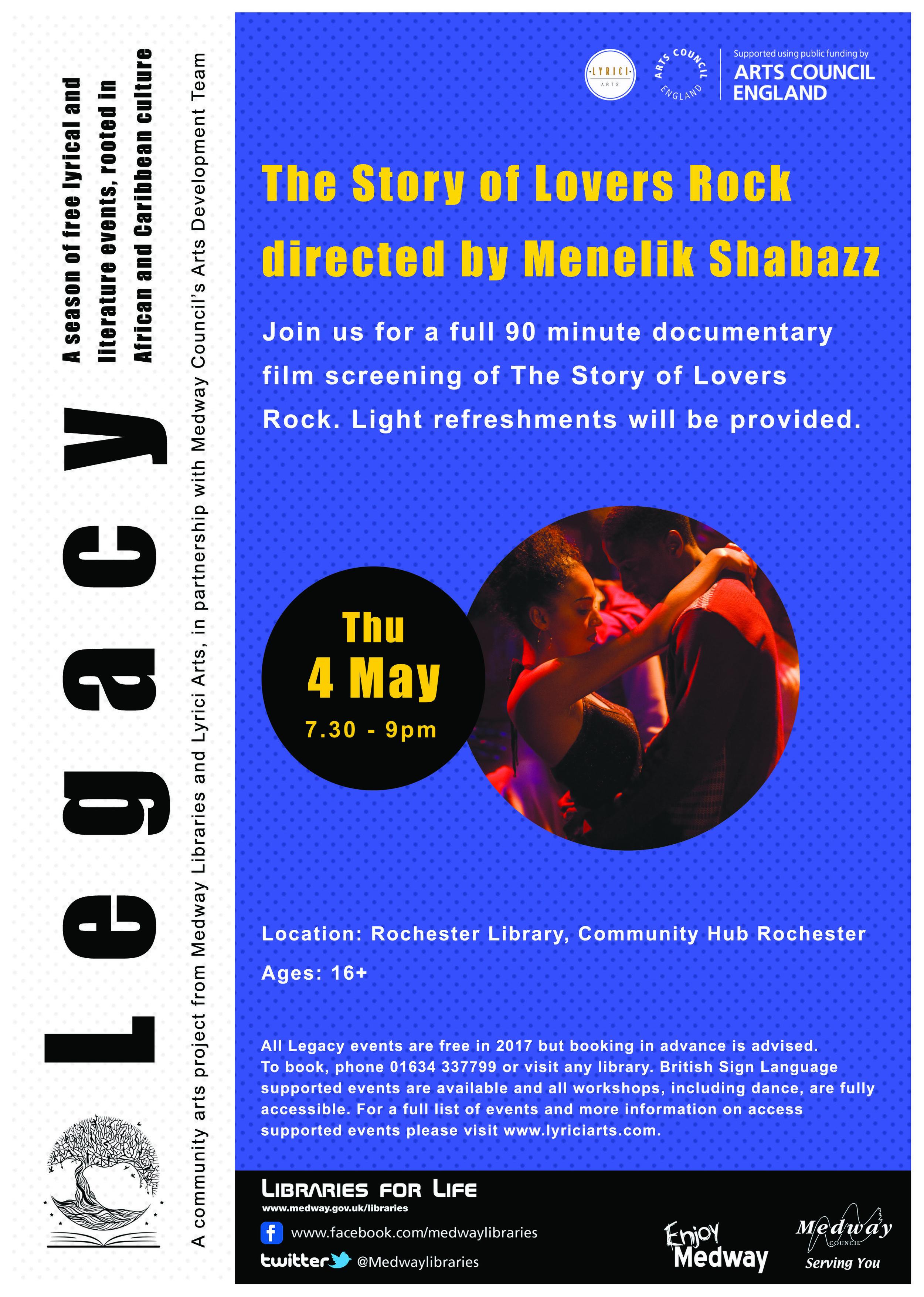 Legacy - 4th May 2017