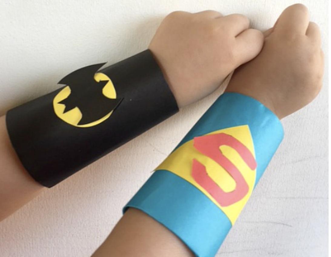 Superhero Cuffs -