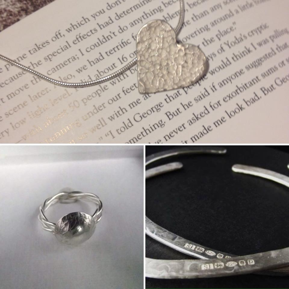 Seviyor Jewellery - Beautiful Silver Jewellery designed and handmade in a small home studio in Kent.