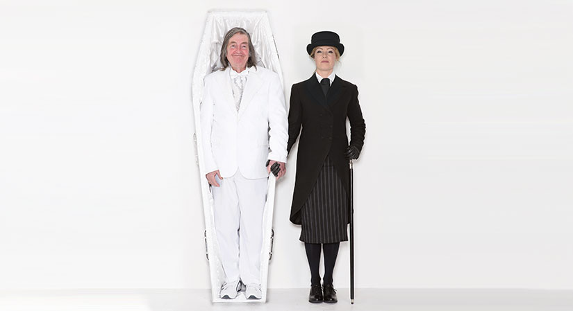 Ugly Chief - A comedy based on true events performed by a real-life father and daughter. It explores the taboos around death and its practicalities, and the fractious relationship with a parent whose opinions you don't always agree with.
