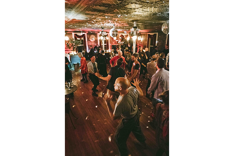 The New Beginnings Ball at The Tin Ballroom Lawrence Brau photography January 28, 2017