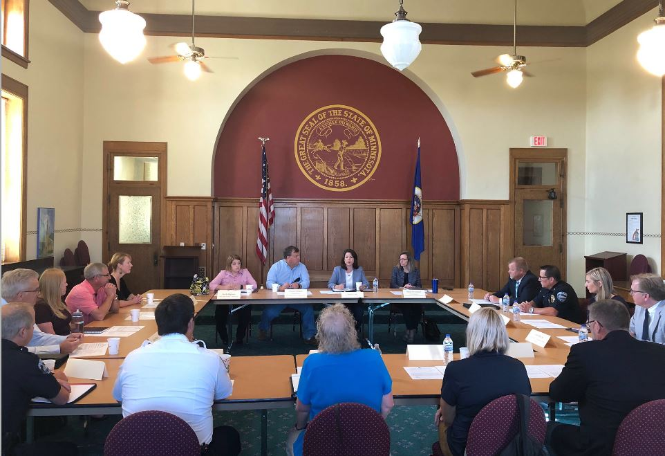 LPLA attended the Flood Resiliency Roundtable hosted by U.S. Representative Angie Craig.