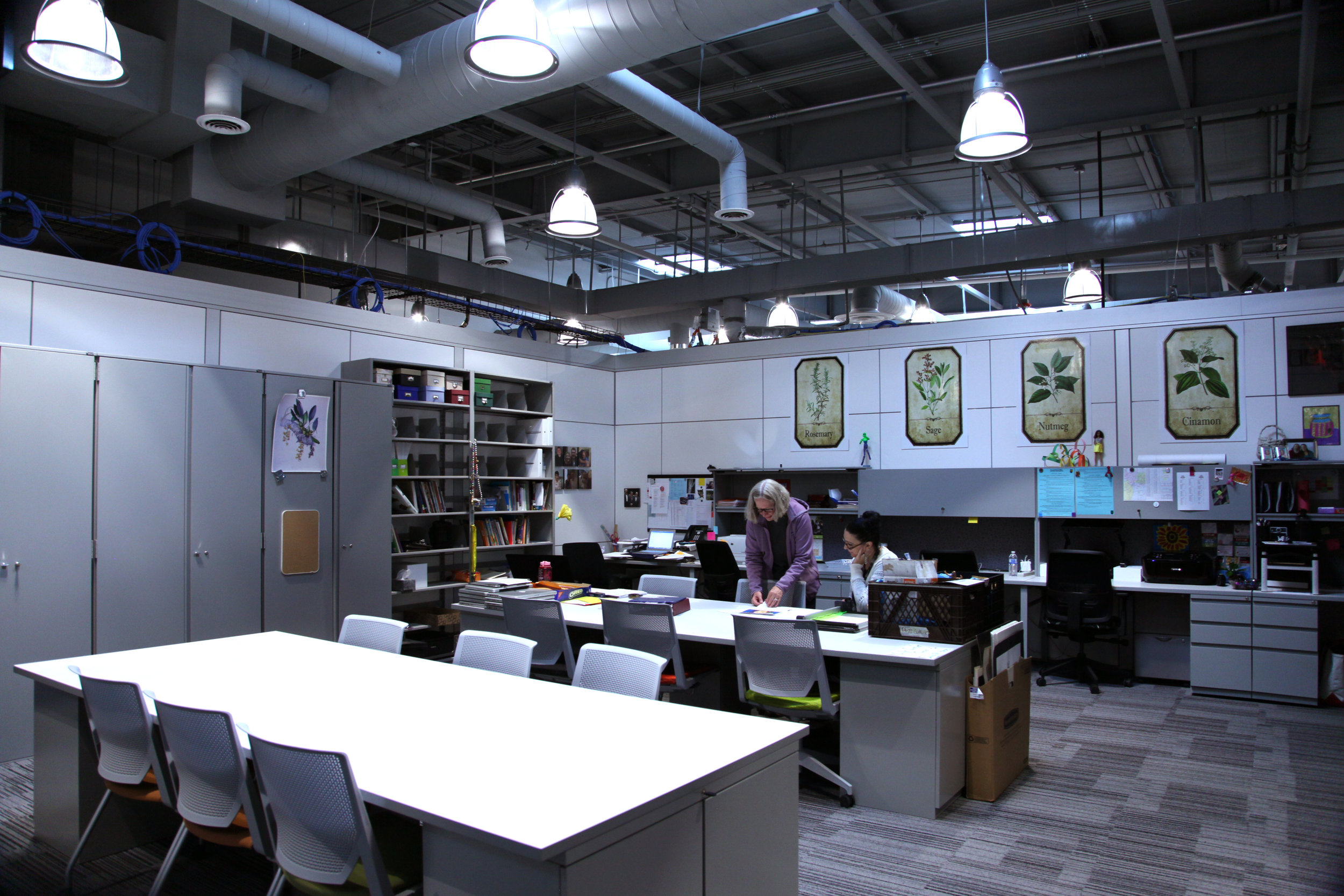 Flexible Work Space After Renovation