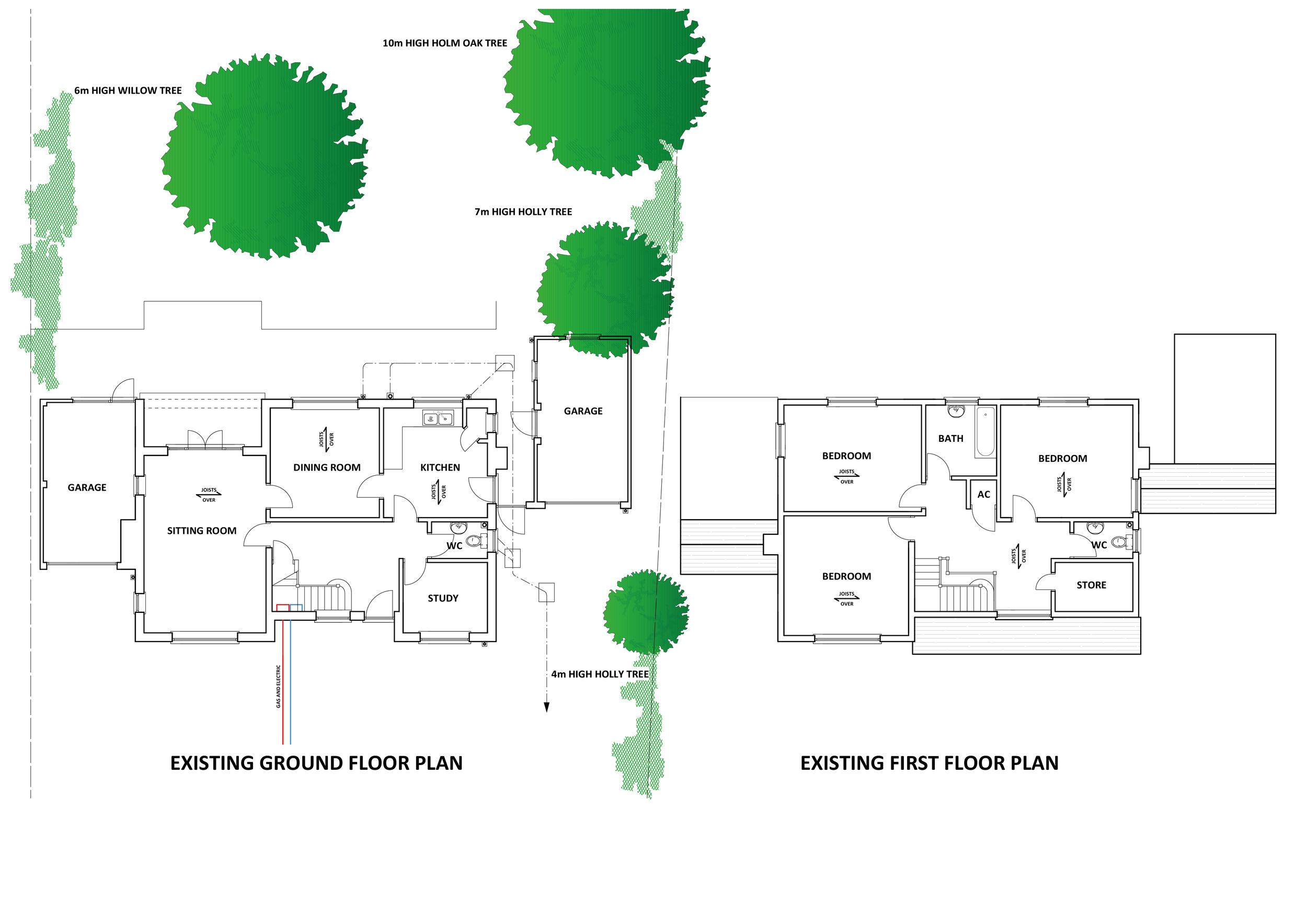 Floor Plan Before/After