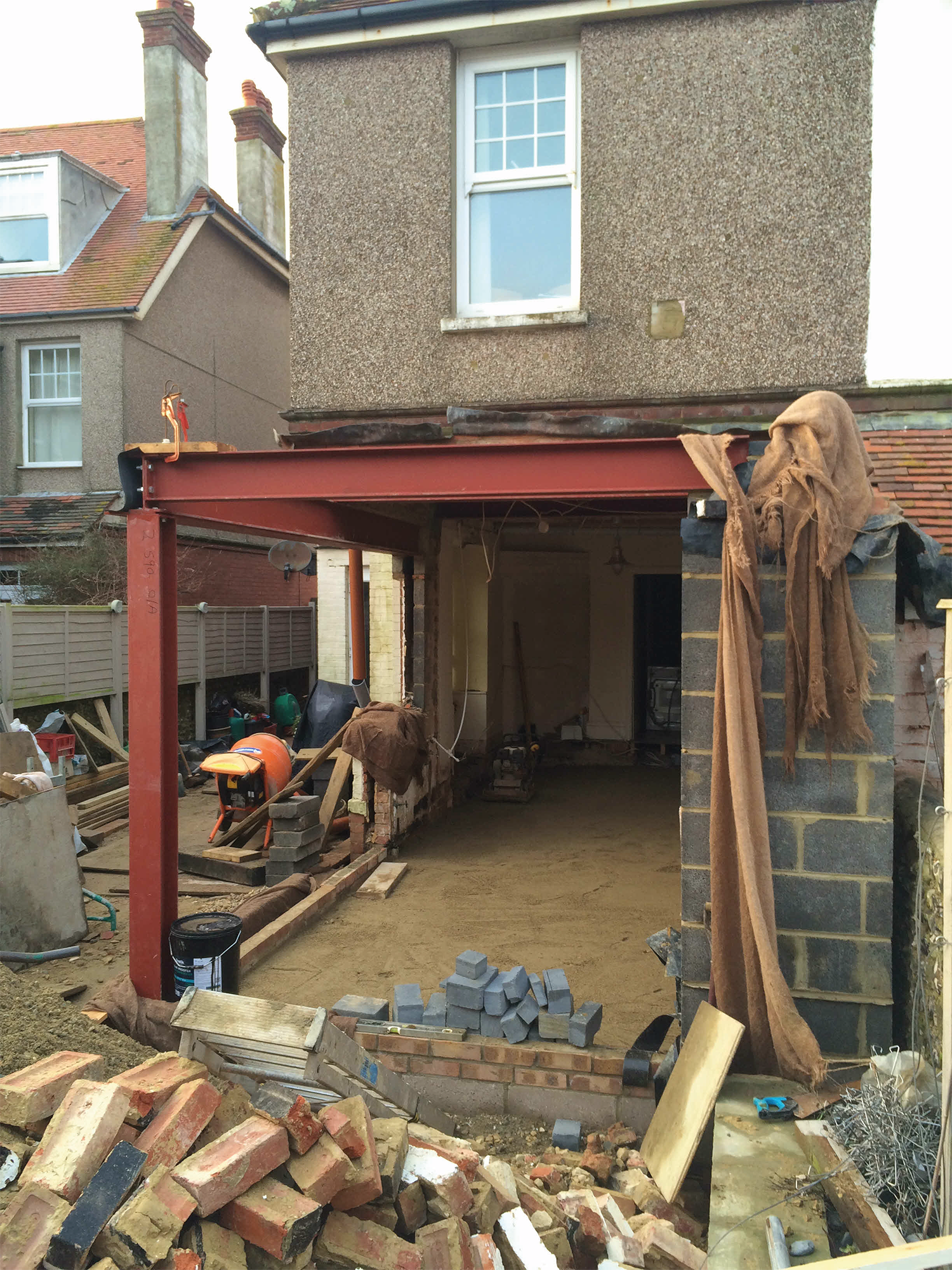 Single storey rear extension in Seaford02.png