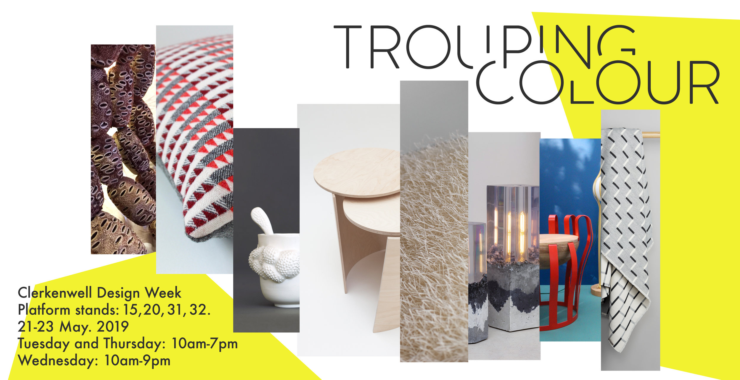Trouping Colour Clerkenwell Design Week 2019