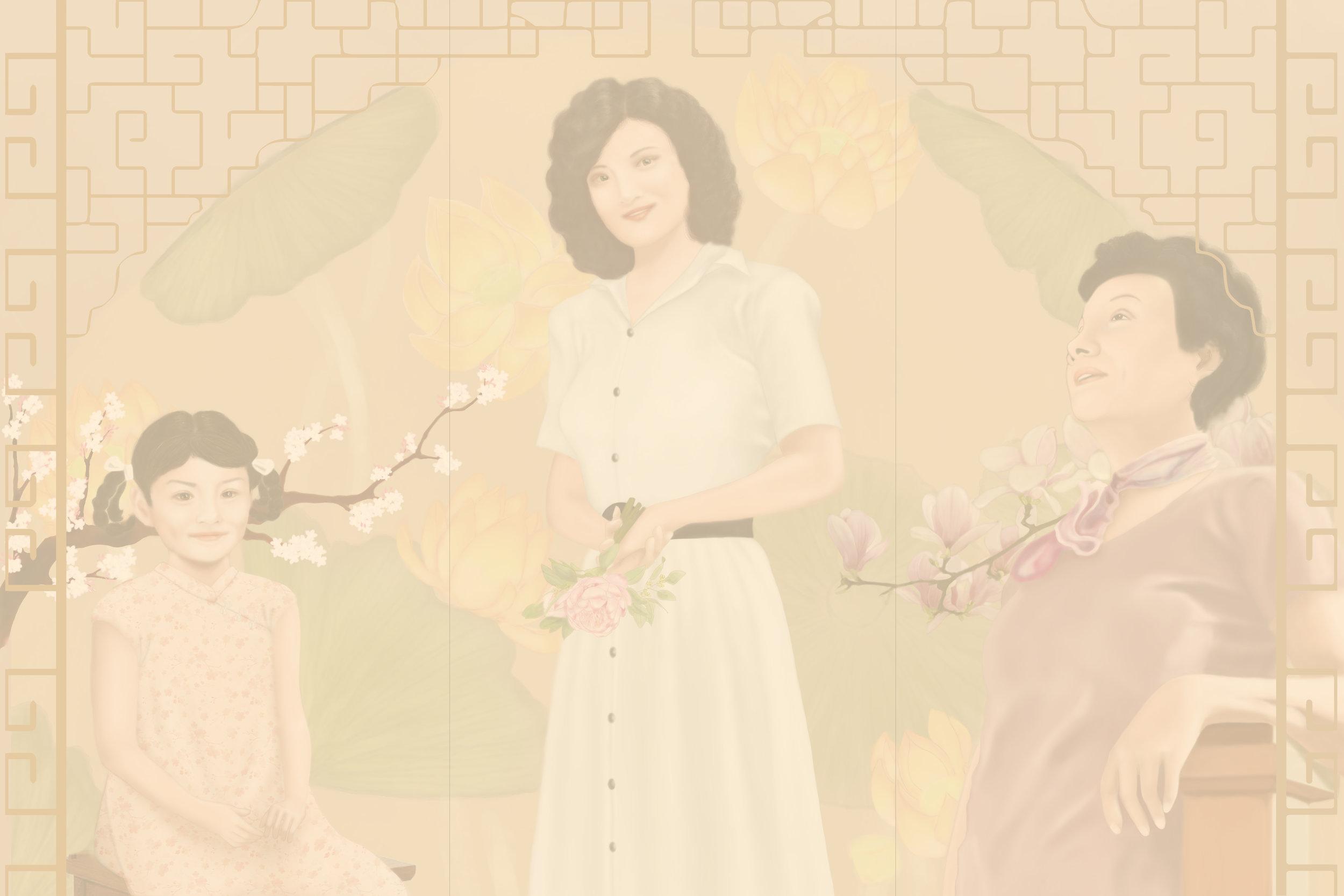 Joy Triptych - Work in Progress