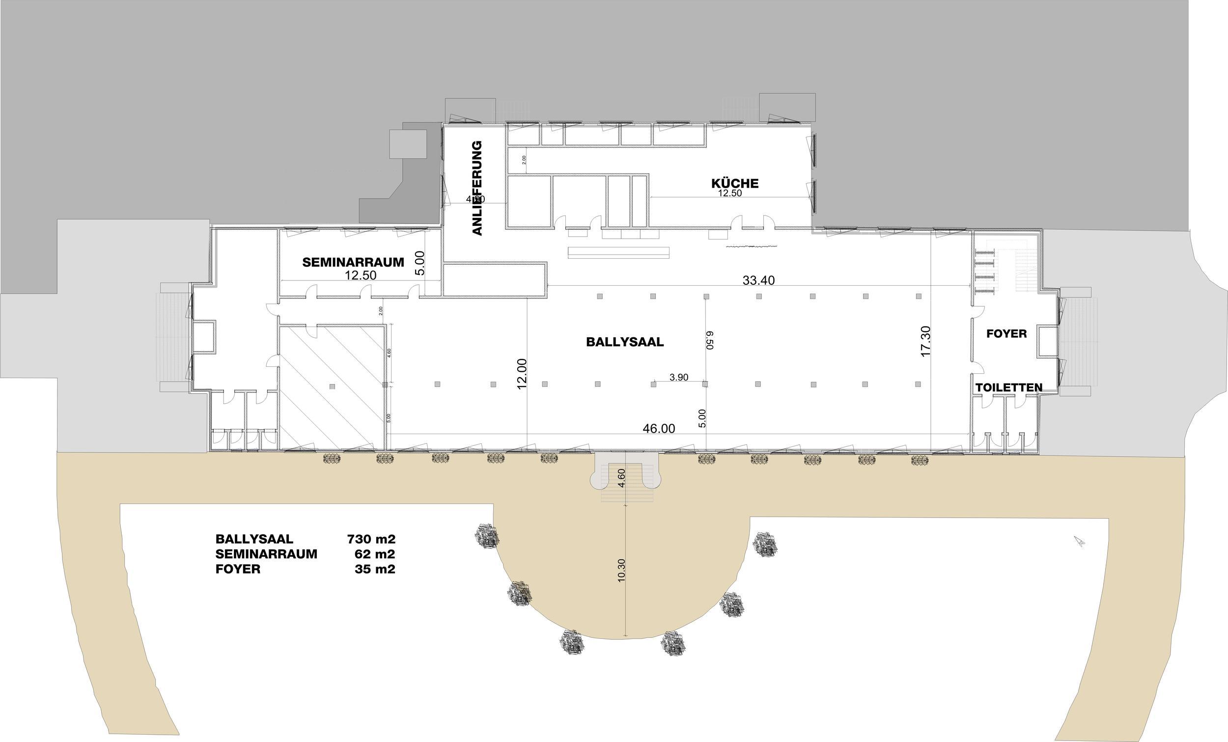 Ballsaal BallyHouse