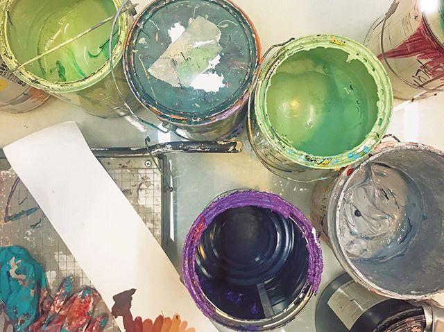 Exciting stuff in the works . . . . . . .  #mural #murals #muralart #muralpainting #muralsdaily #muralism #muralartist #muralarts #muralists #muraldesign #contemporaryart #urbanart #urbanartist #art #artsy #artlovers #artofinstagram #artstudio #artstagram #artinspo #phillyart #phillymural #wip #workinprogress #phillymural #southphilly #artgram #artislife #studiolife #paint