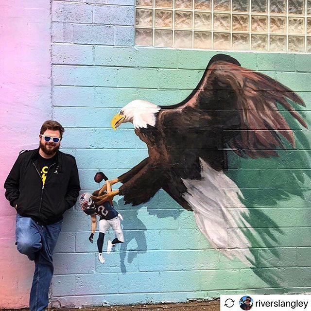 "#Repost - @riverskangley ""Truly one of America's great towns."" . . . . . .  #philadelphia #philly #philadelphiapa #philadelphiaart #philadelphiaartist #bellavista #southphilly #southstreetphilly #phillygram #phillysupportphilly #phillyart #phillyartist #phillylove #phillyigers #phillymade #phillyartists #discoverphl #whyilovephilly #visitphilly #igers_philly #phillyphire #explorephilly #phillymurals #phl #artinphilly #phillycreatives  #howphillyseesphilly #flyeaglesfly #birdgang"