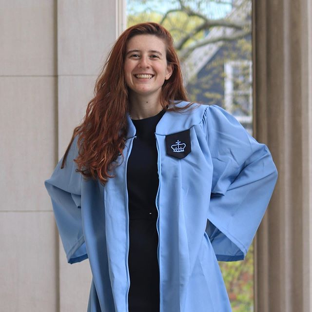 With immense pride and love, we celebrate Lindsay Louise Saligman graduating from Columbia University, Summa Cum Laude, Phi Beta Kappa- languages - Russian, Spanish, Chinese, Farsi, French and Arabic. Accompanied by a very sweet soul and just spirit.  @lindsayspeaksfarsi