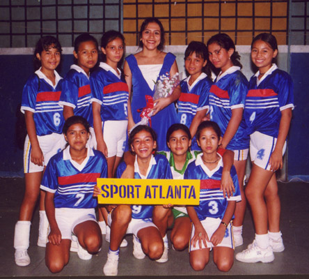 Indian Children Volley Ball Team.