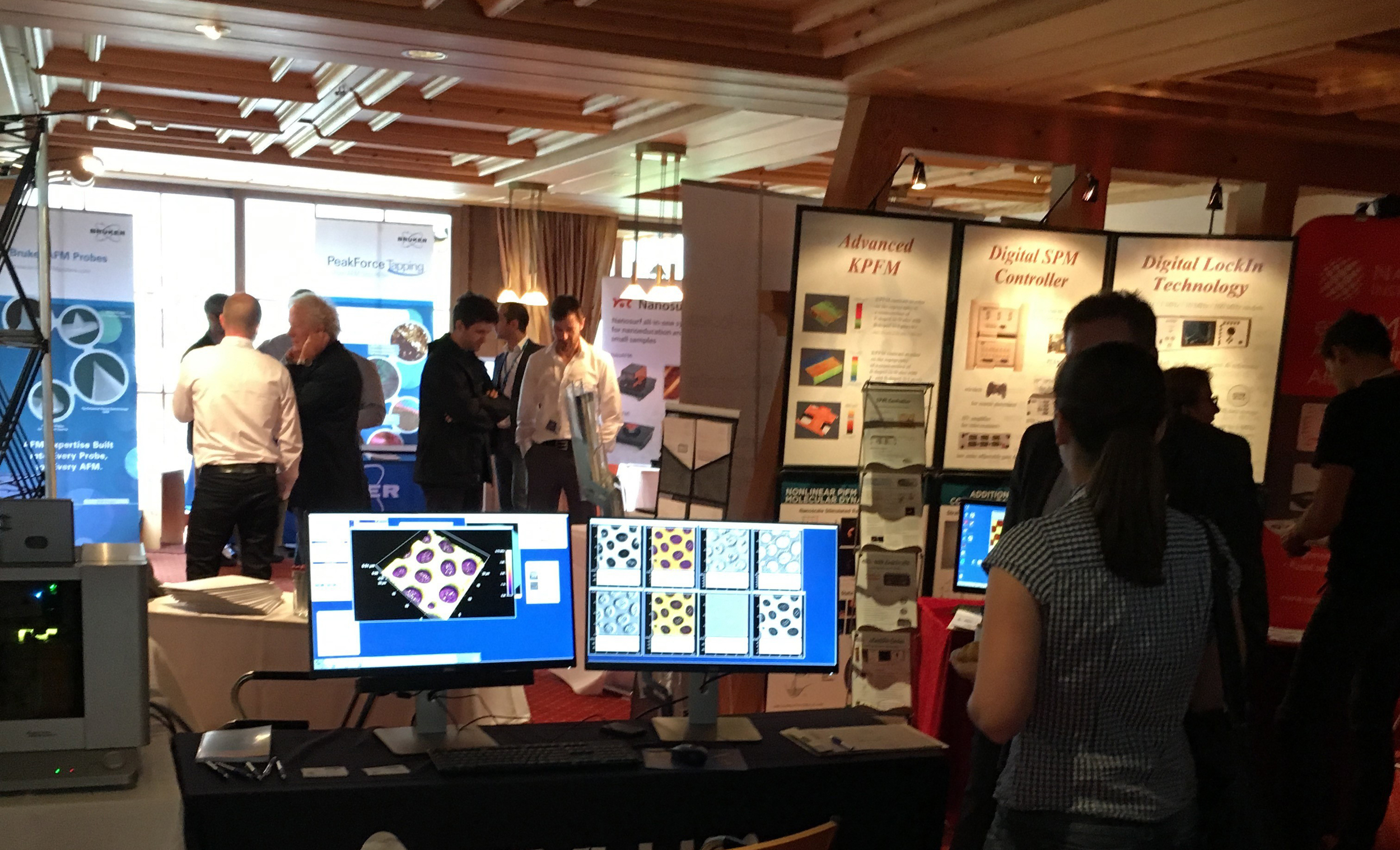 The exhibition at ISPM 2016