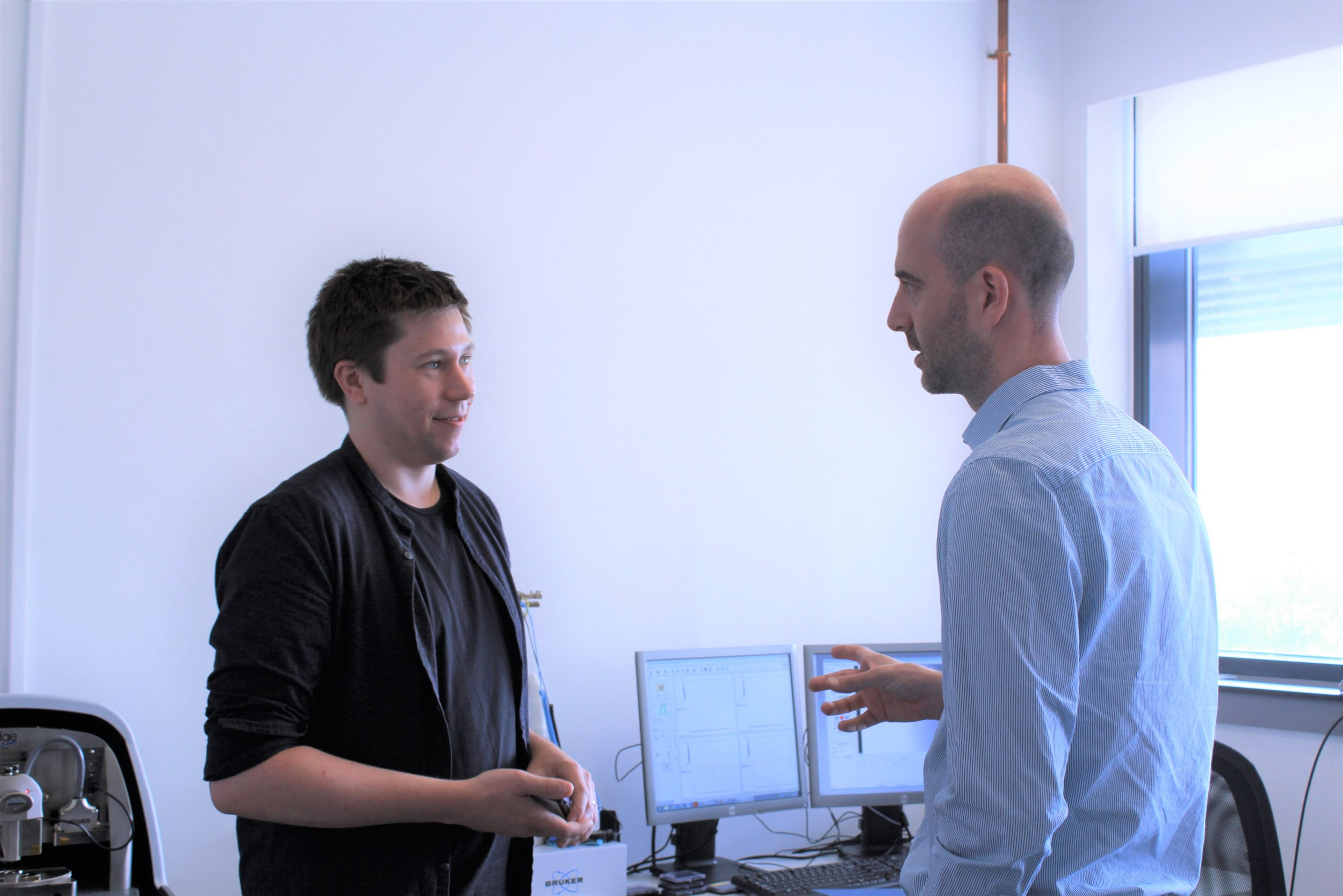 Talking to Filip Gucmann (one of our customers and CDTR research associate)