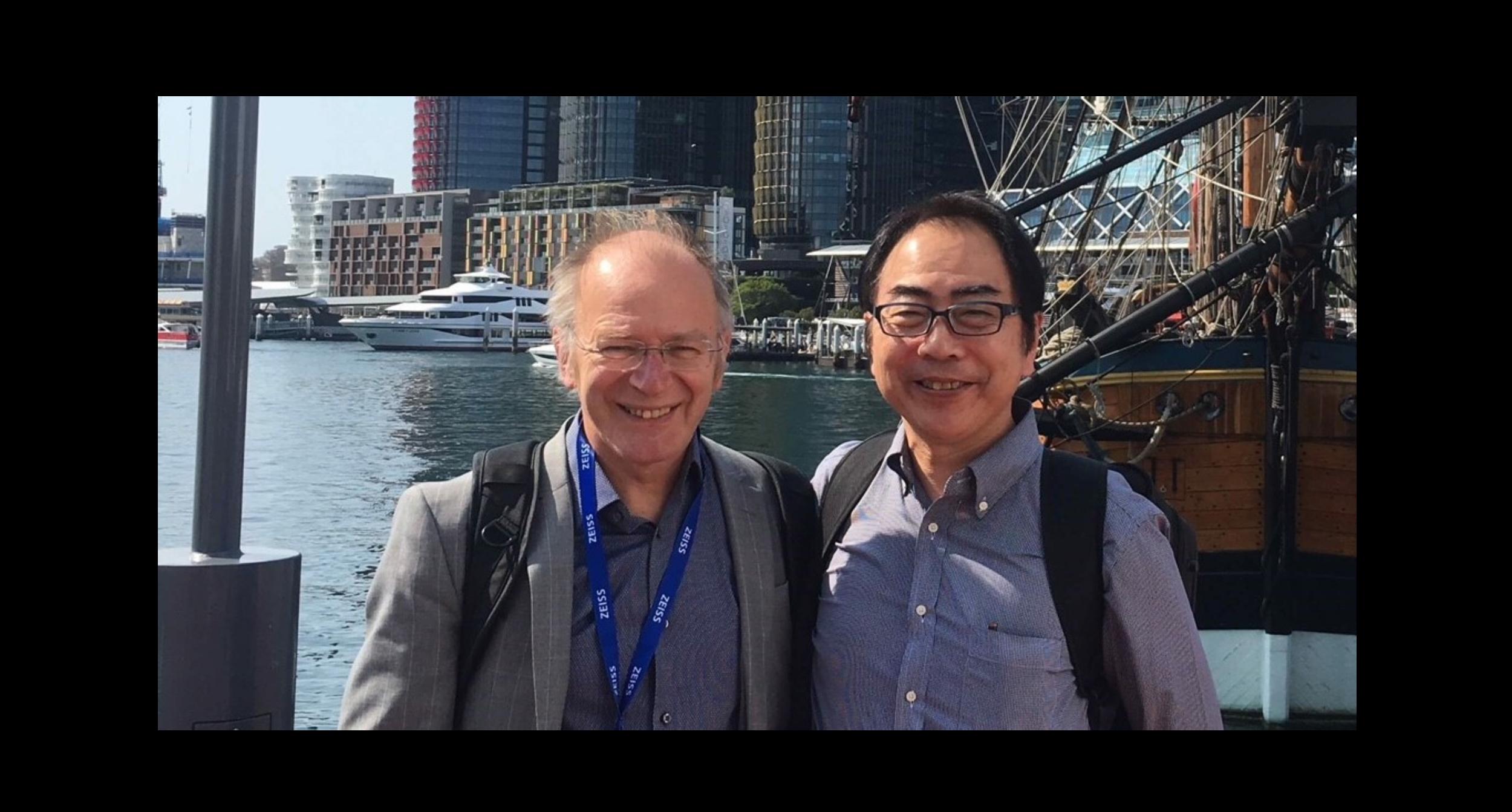 Merv and Prof Tomonobu Nakayama at IMC19.png