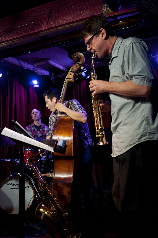 Mark Ferber, Gary Wang, Chris Cheek, 2015