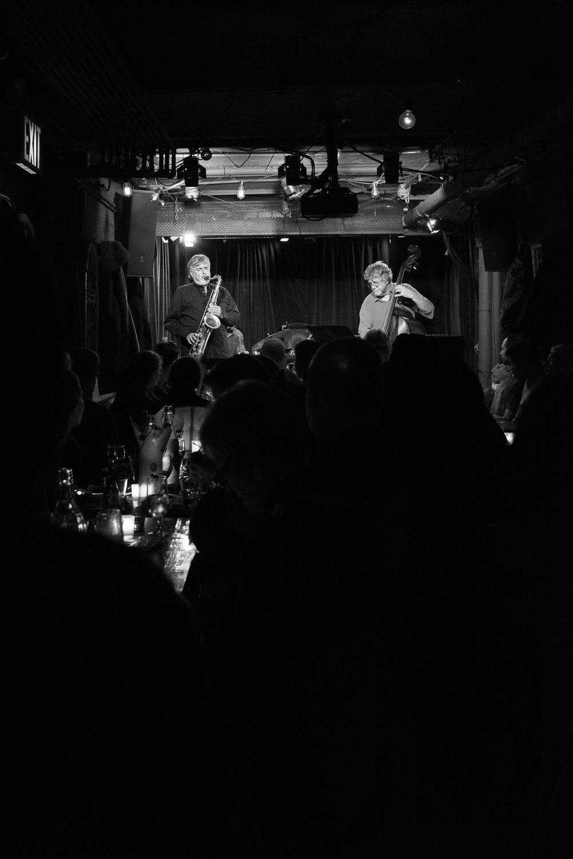 Tony Malaby and Michael Formanek, 2015