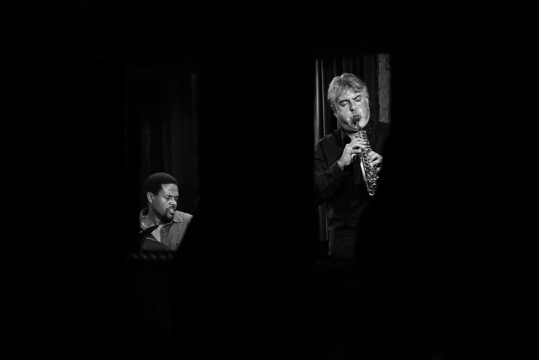 Nasheet Waits and Tony Malaby, 2015