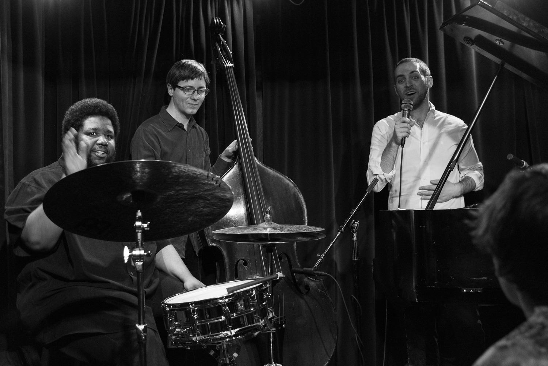 Tyshawn Sorey, Thomas Morgan and Aaron Parks, 2016
