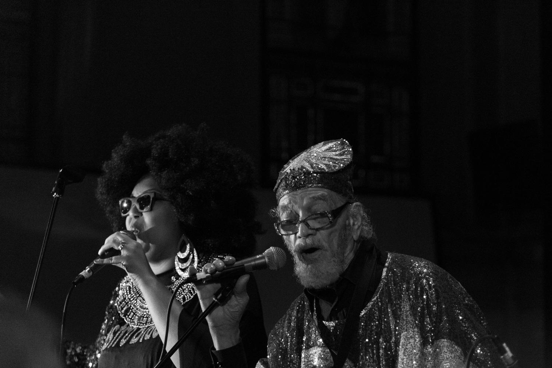 Tara Middleton and Marshal Allen, 2016