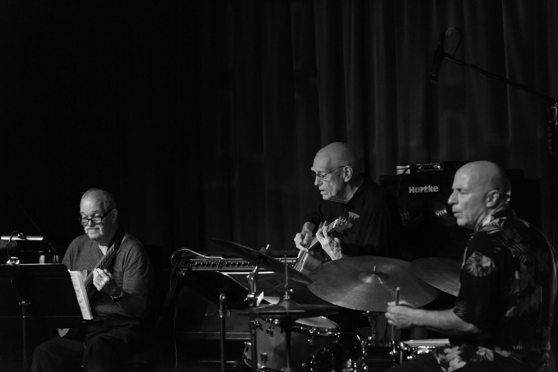 John Abercrombie, Steve Swallow, Joey Baron, 2016