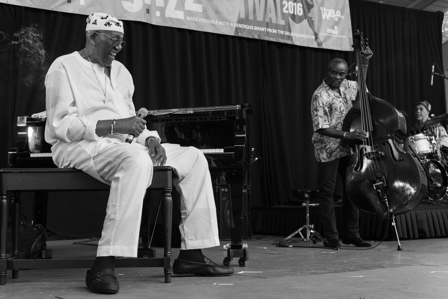 Randy Weston, Alex Blake, Neil Clarke, 2016