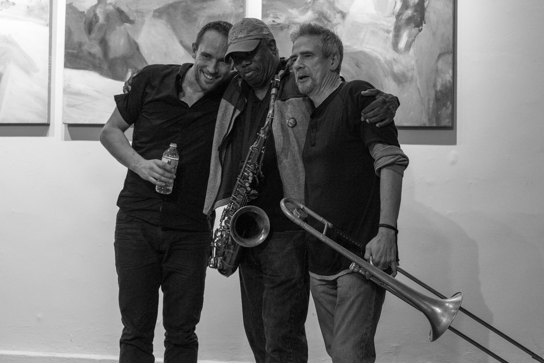 Paal Nilssen-Love, Joe McPhee and Steve Swell, 2017