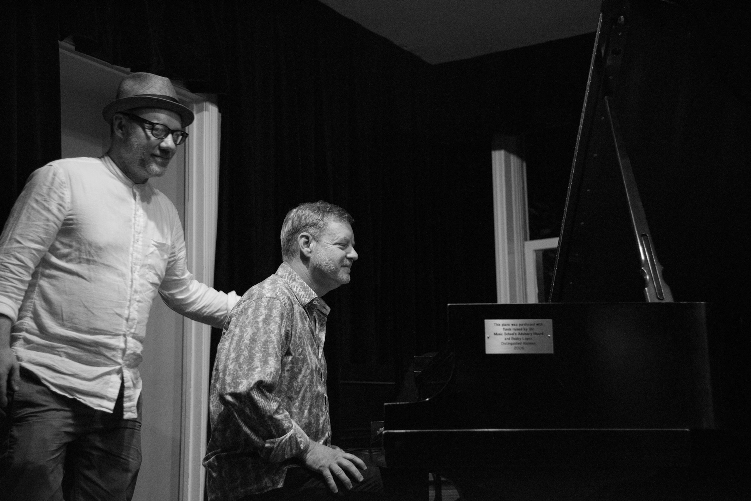Sean Conly and Frank Kimbrough, 2017