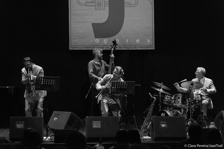 Matt Wilson Quartet, 2017