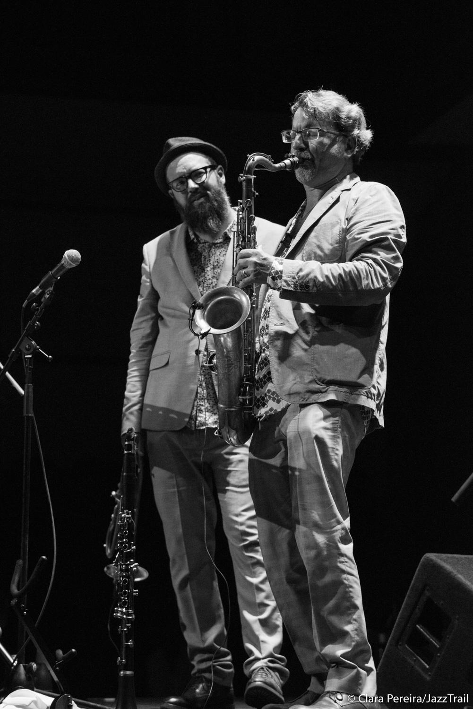 Kirk Knuffke and Jeff Lederer, 2017