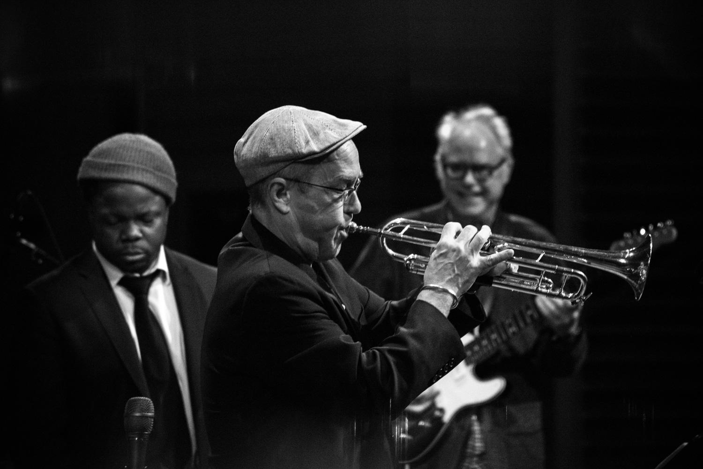 Ambrose Akinmusire, Dave Douglas, Bill Frisell, 2018