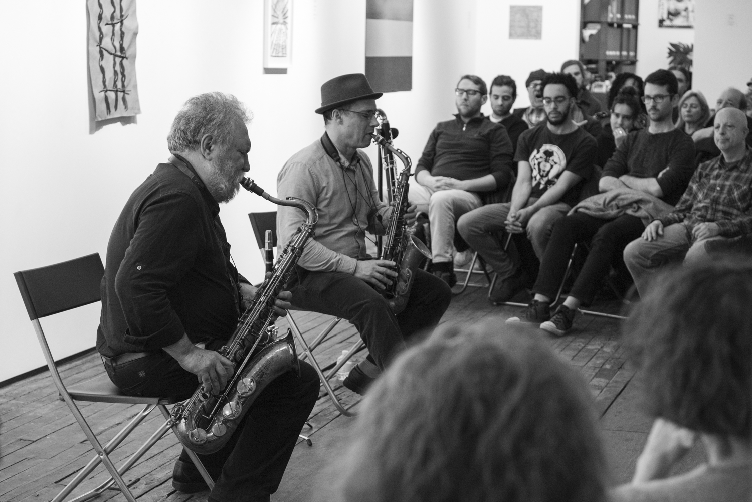 Evan Parker and Ned Rothenberg, 2018