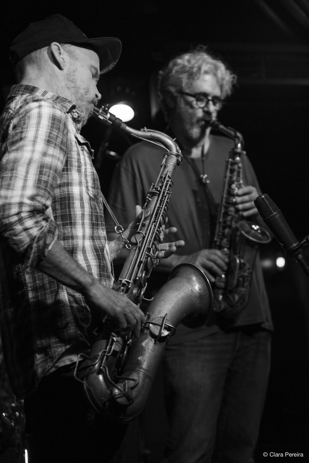 Chris Speed and Tim Berne, 2018