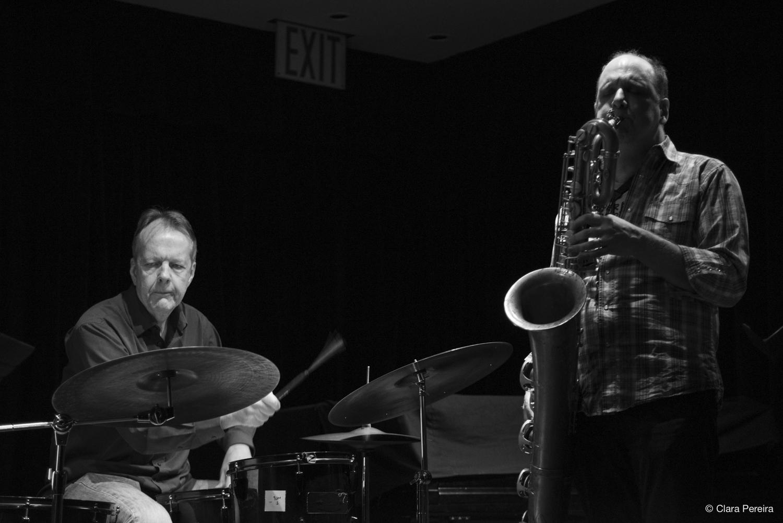 Tom Rainey and Josh Sinton, 2018