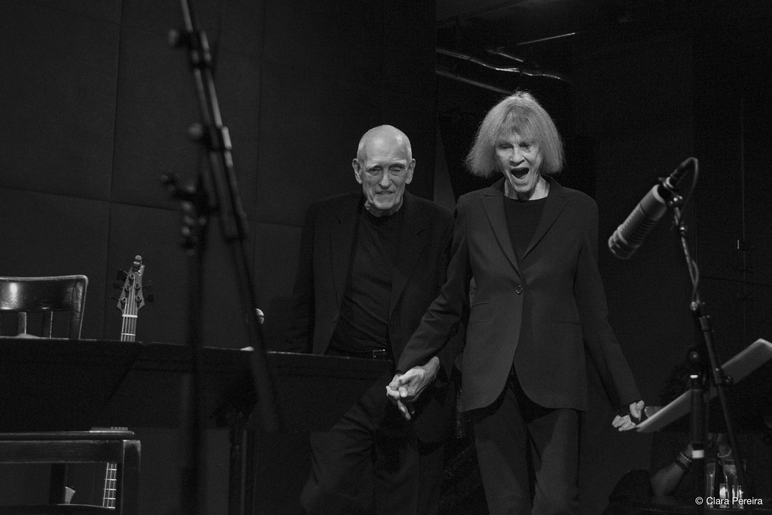 Steve Swallow and Carla Bley, 2019