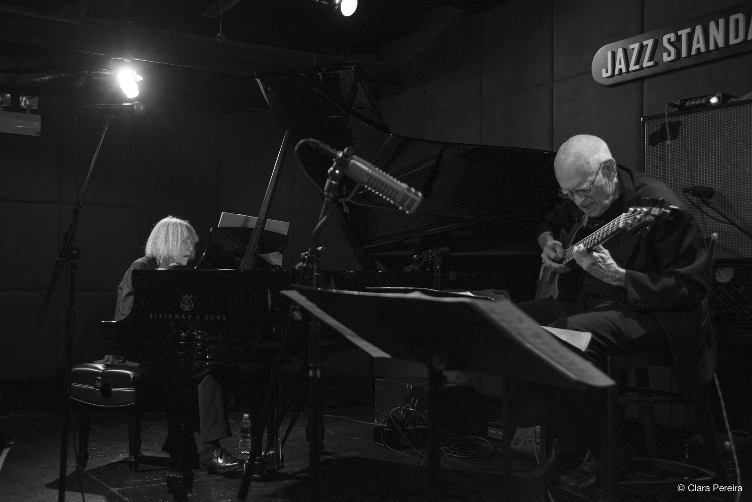 Carla Bley and Steve Swallow, 2019