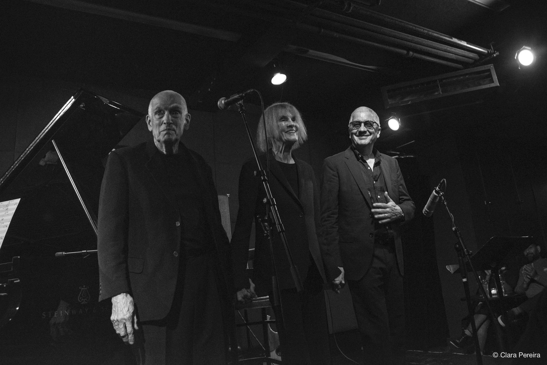 Steve Swallow, Carla Bley, Andy Sheppard, 2019