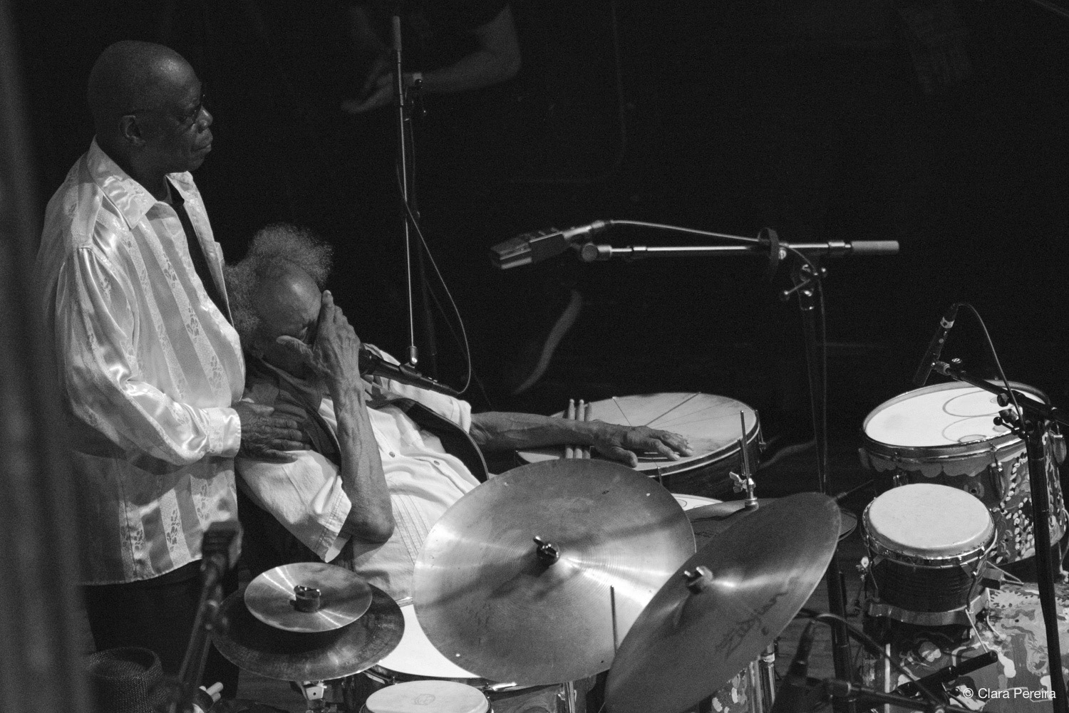Andrew Cyrille and Milford Graves, 2019