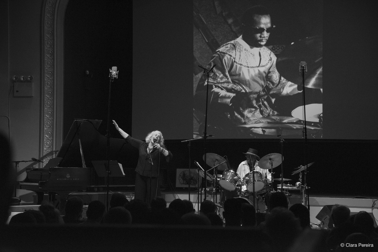 Lisa Sokolov and Andrew Cyrille, 2019