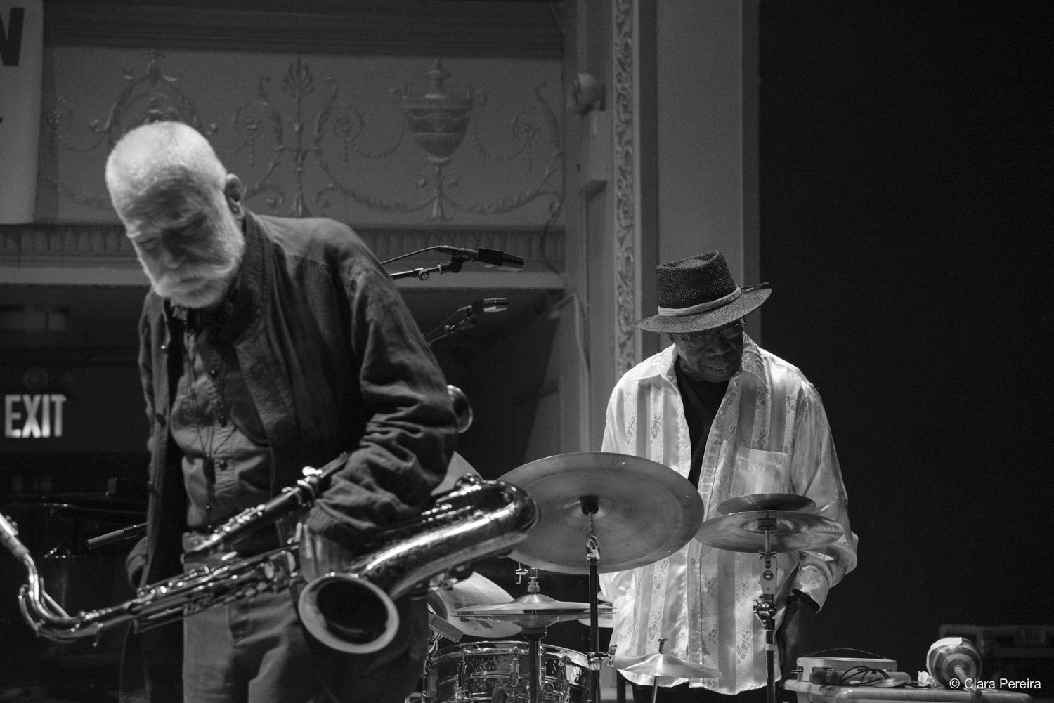 Peter Brotzmann and Andrew Cyrille, 2019