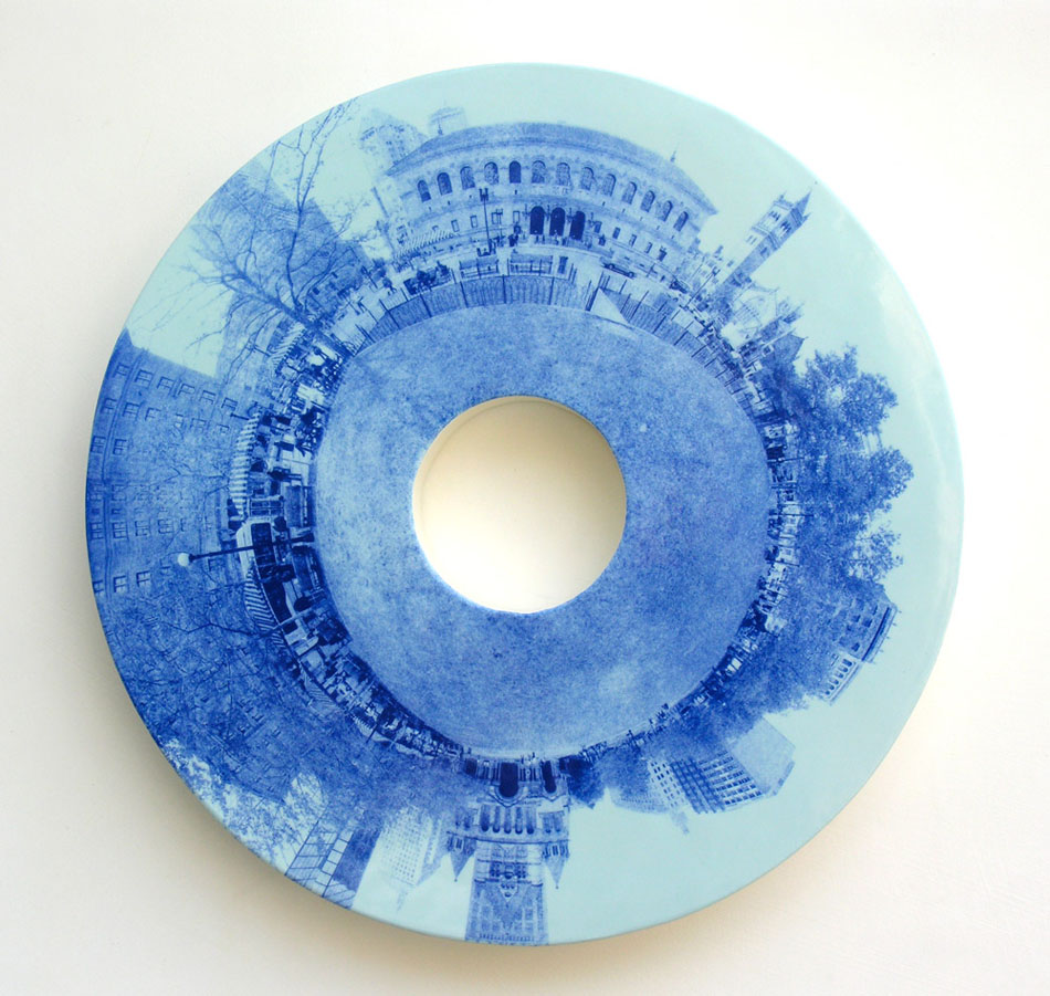 "Copley Square 21"" diameter x 2"" deep"