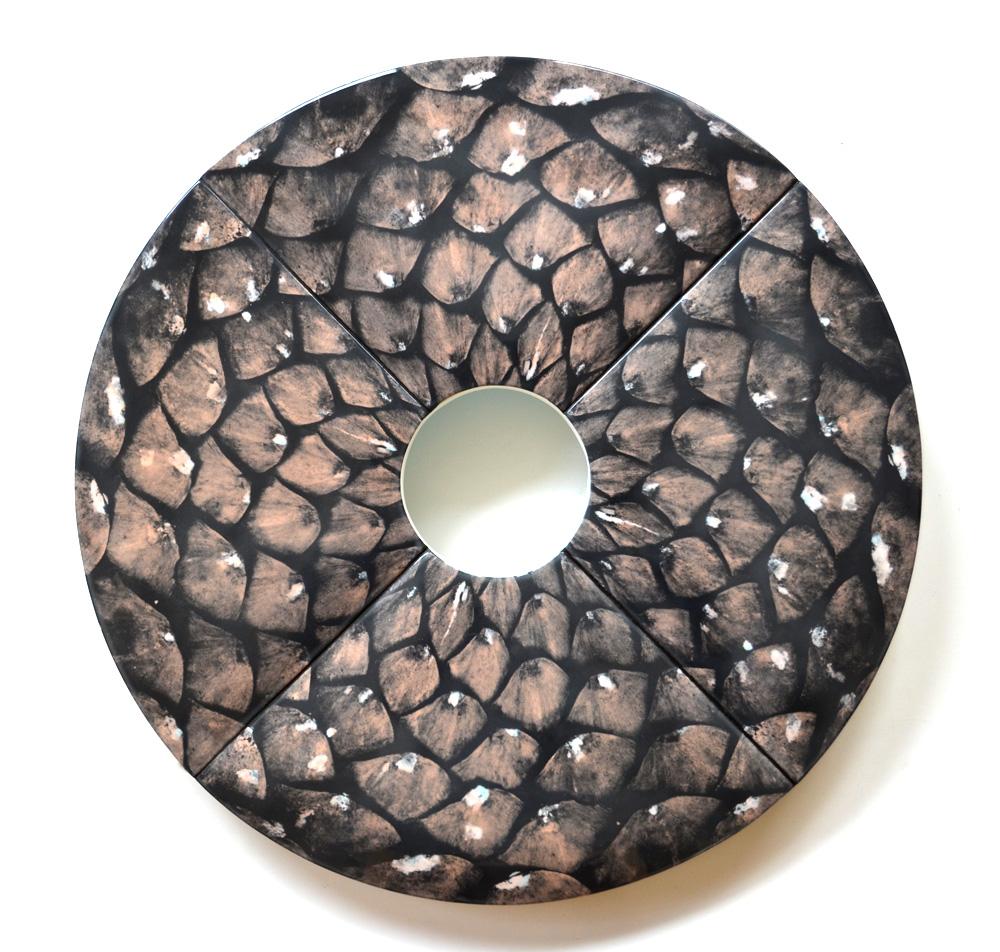 """Pine Cone 31"""" diameter x 1.5"""" deep"""