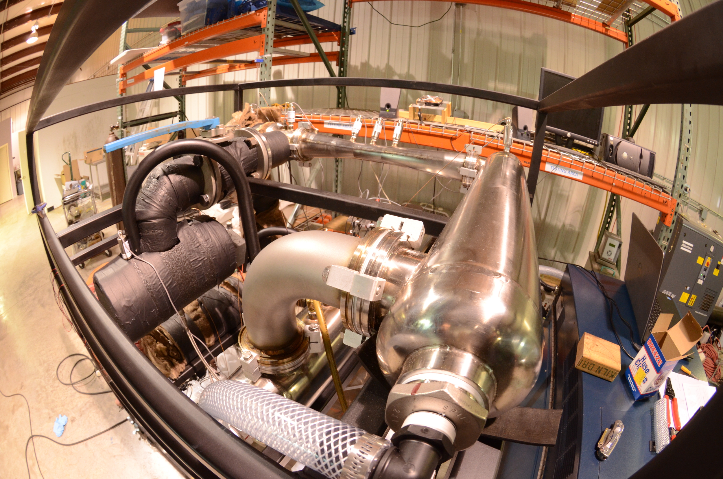 In-process ejector system fabrication