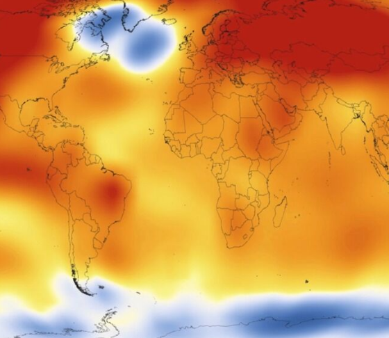 2015 was the hottest year since recordkeeping began in 1880. Source: NASA/Getty Images