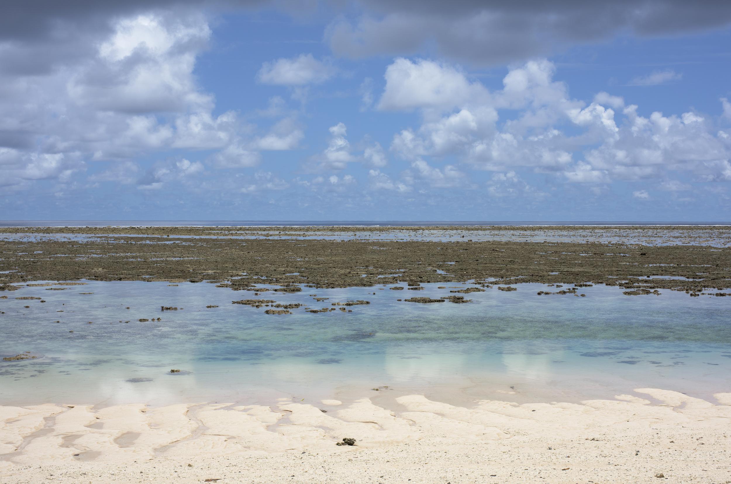 Low Tide #1, Laura, Majuro Atoll (2015)