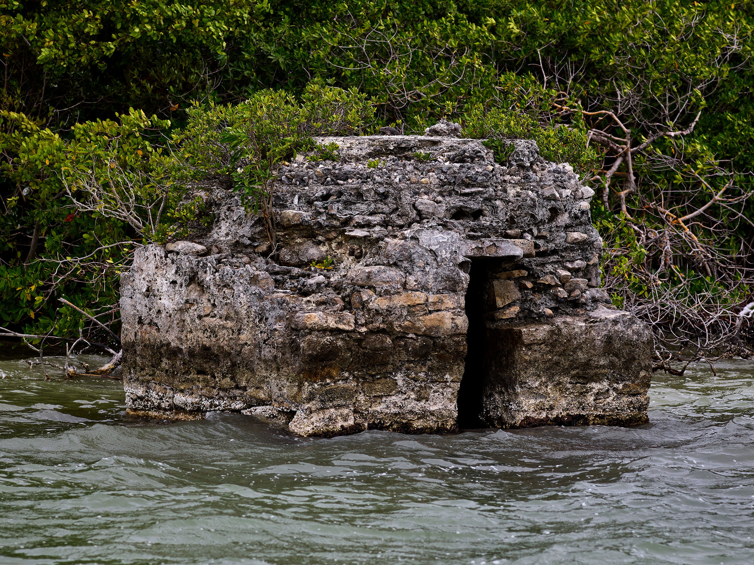 Ancient Mayan Lighthouse at High Tide (2018)