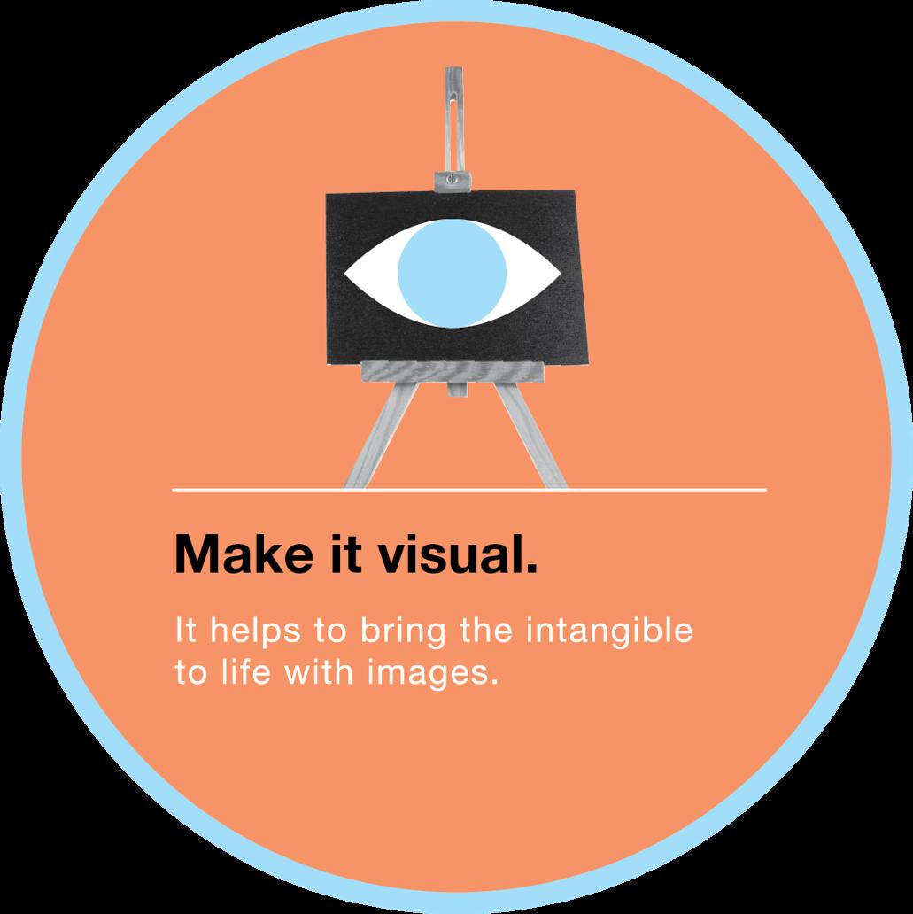 Make it visual.