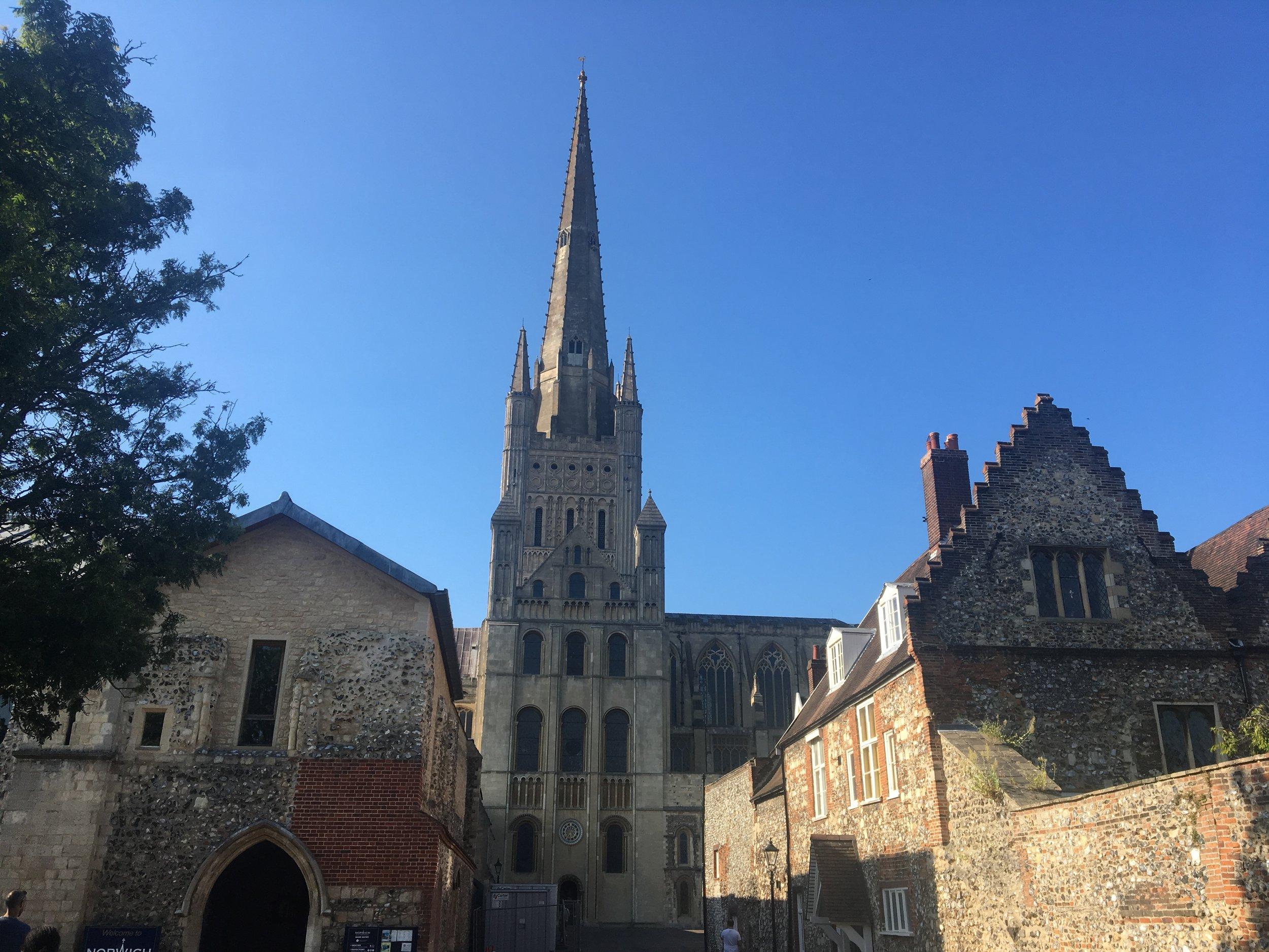 Norwich Cathedral. Photo: Karen Ingram