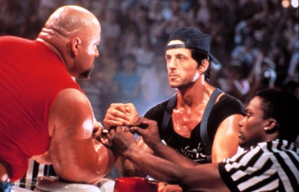 If Stallone was President, this is what negotiations with Russia would look like.